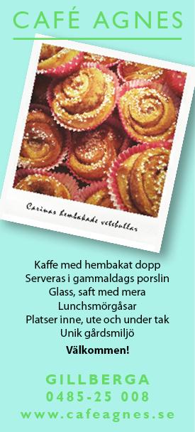 Café Agnes i Gillberga på norra Öland