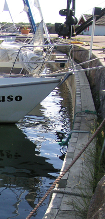 Gästhamnen i Sandvik på Öland