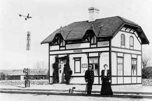 Persnäs station 1910